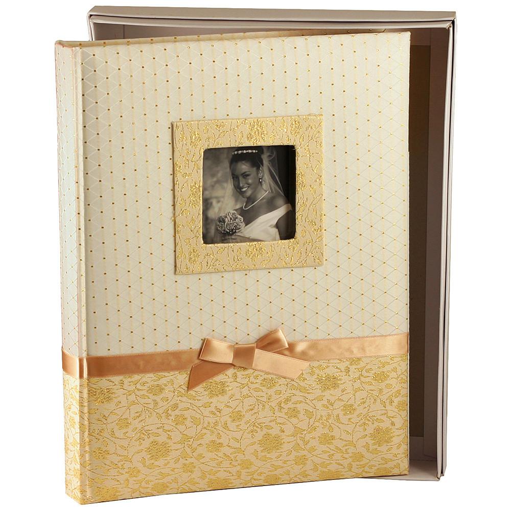 Альбом CHAKO 24*32 KC-30SL/CR SILVIA K1175 60 pages BOX (золото)