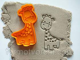 """3D формочки-вырубки для пряников """"Жираф"""""""