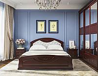 Спальный гарнитур в классическом стиле из массива дерева Грация ROKA, цвет на выбор