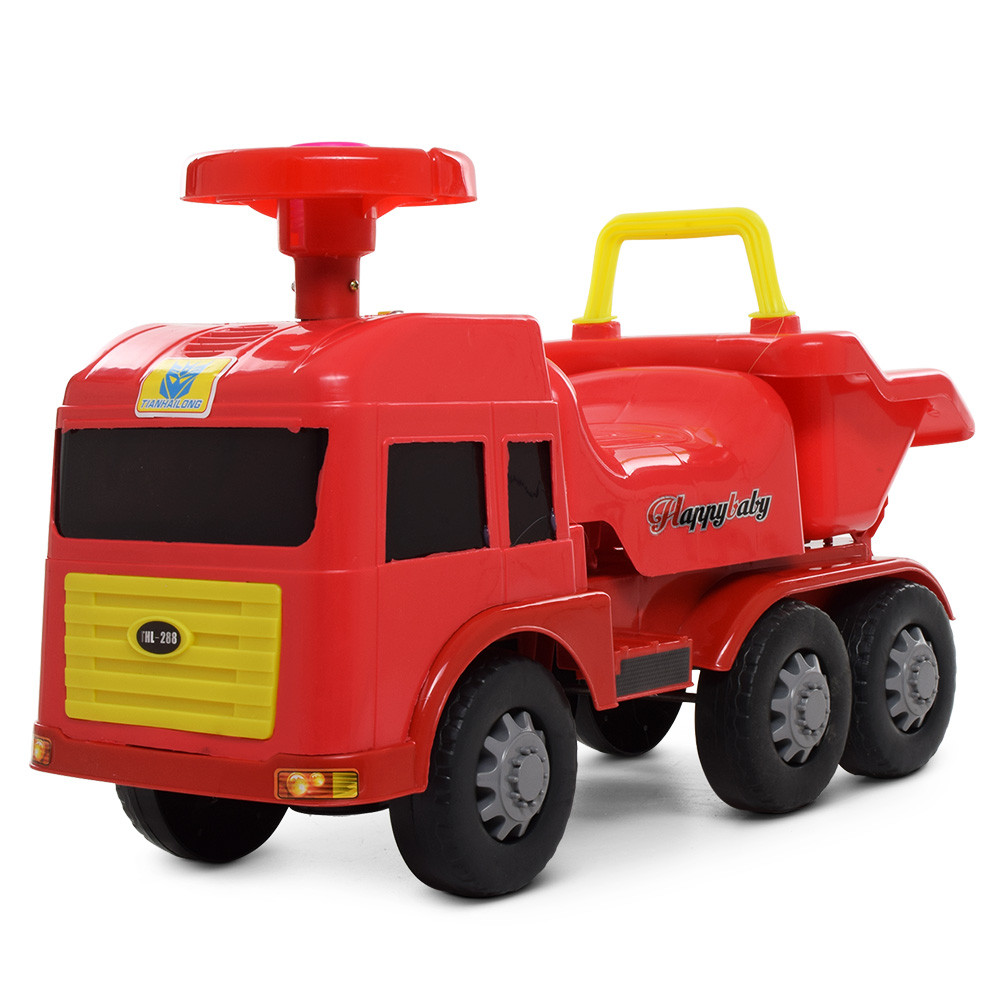 Каталка-толокар Красная BAMBI 248