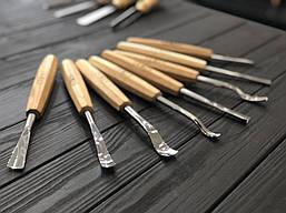 Набор кованых профессиональных стамесок STRYI для резьбы по дереву, 8 шт. от производителя