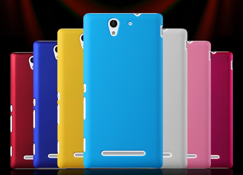 """SONY C3 D2502 XPERIA оригинальный чехол панель накладка бампер для телефона """"COLOUR CASE MATE"""""""