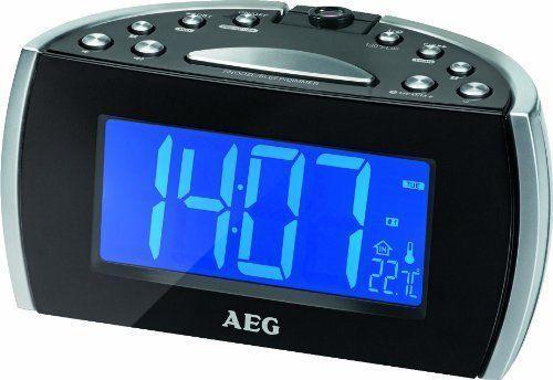 Радиочасы AEG MRC 4119 черные