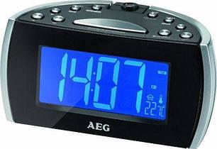 Радиочасы AEG MRC 4119 черные, фото 2