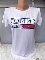 Футболка женская лето Tommy (42/46 универсал) СП