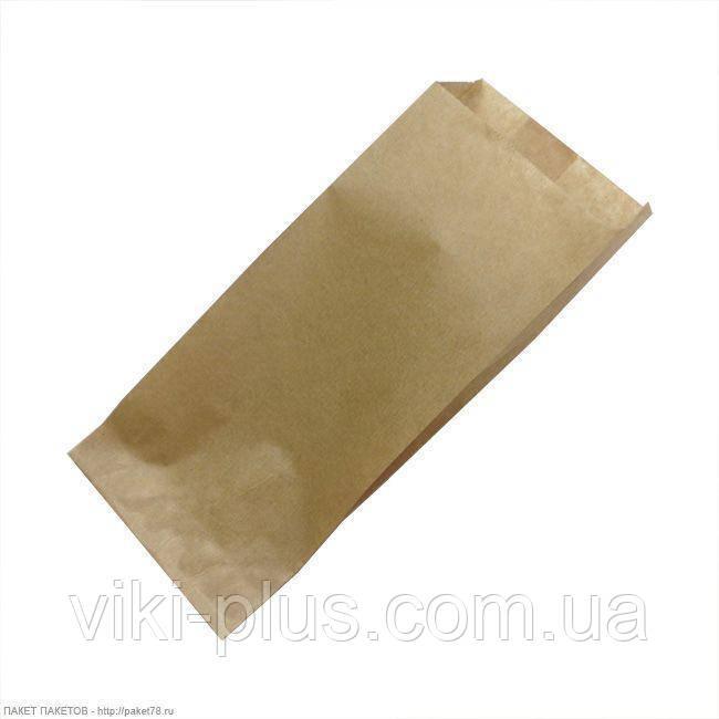 Пакет паперовий 17*3*23 см коричневий (1000шт/уп)