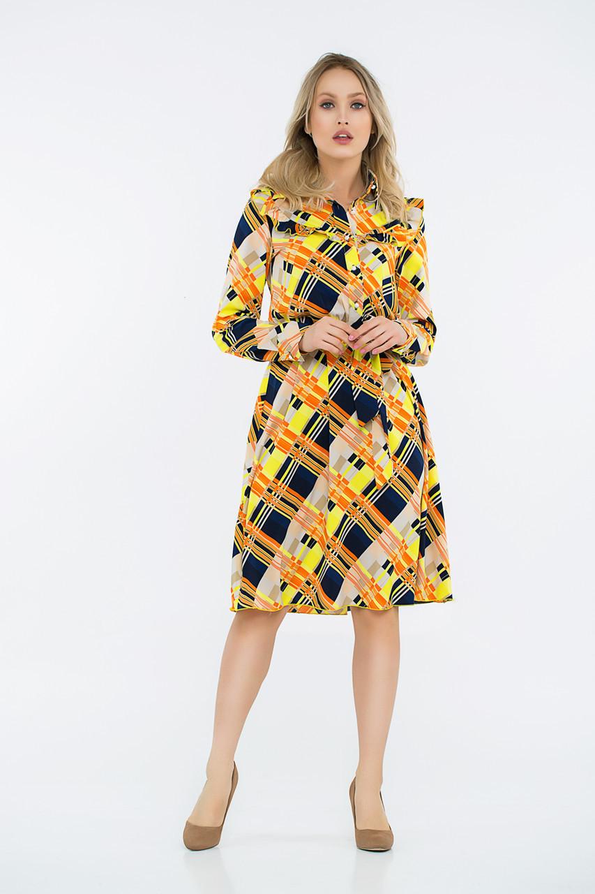 Платье LiLove 42-561 52-54 желтый