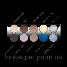 Палитра теней для век Pat McGrath Labs  MOTHERSHIP I: SUBLIMINAL PALETTE 10 цветов