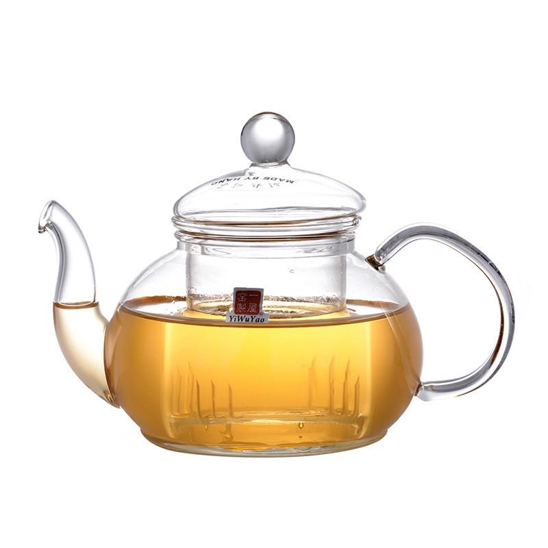 Cтеклянный заварочный чайник YiWuYao, 600 мл
