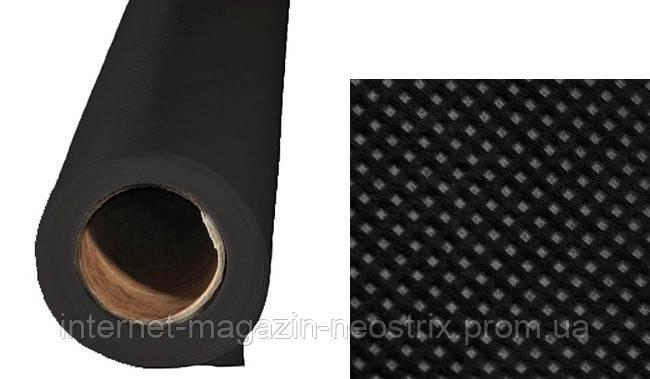 Студийный полипропиленовый фон F&V 1,6х2,5 м (черный)