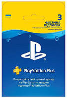 PlayStation Plus: Подписка на 3 месяца