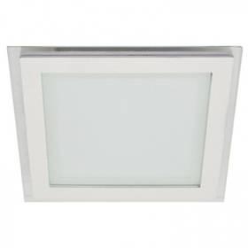 Светодиодный cветильник SL460 18W 4000K квадратный белый( потолочный, сатурн) Код.59550