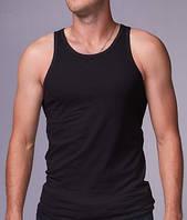 Мужская майка хлопок EZGI Турция размер XL-70 (50-52) чёрная