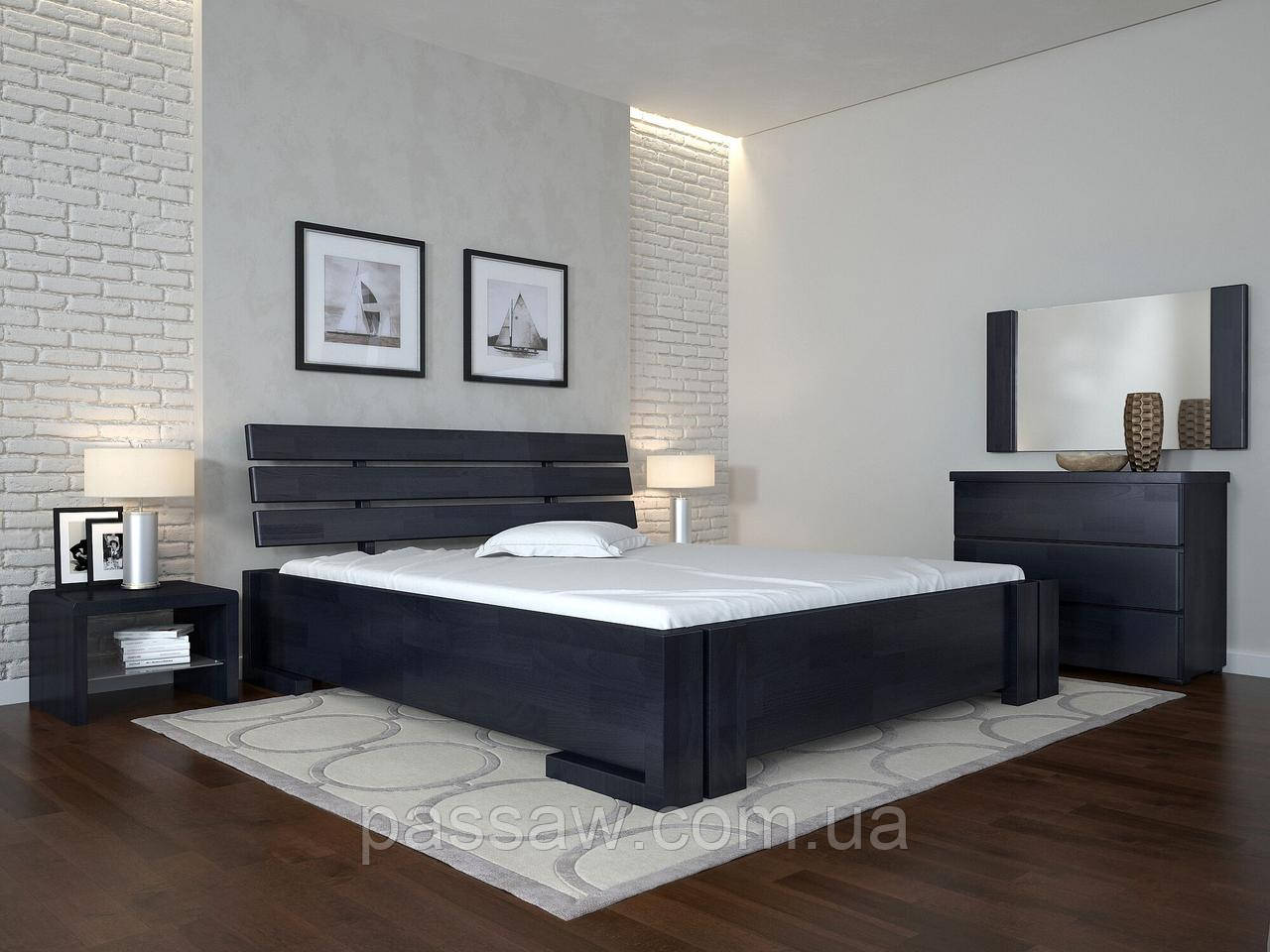 """Кровать деревянная ARBOR DREV  """"Домино"""" 1,2 сосна"""
