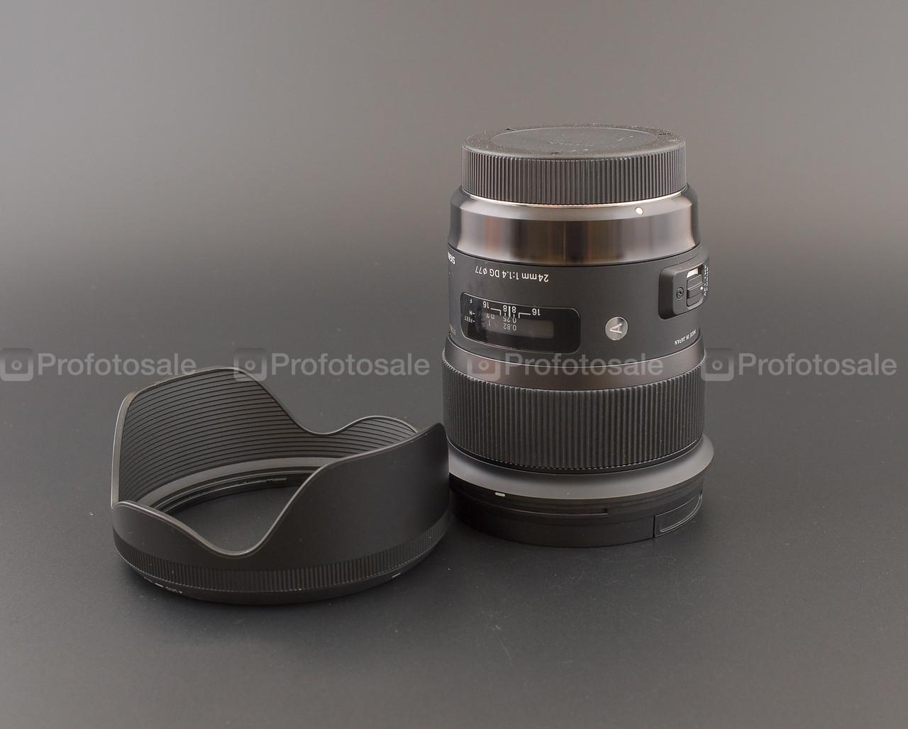 Sigma AF 24mm f/1,4 DG HSM Art Canon