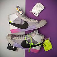 Мужские кроссовки Nike Blazer x Off White, фото 1
