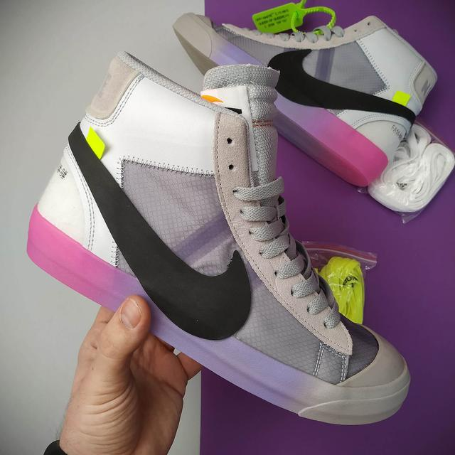 Nike Blazer Mid x Off White фото