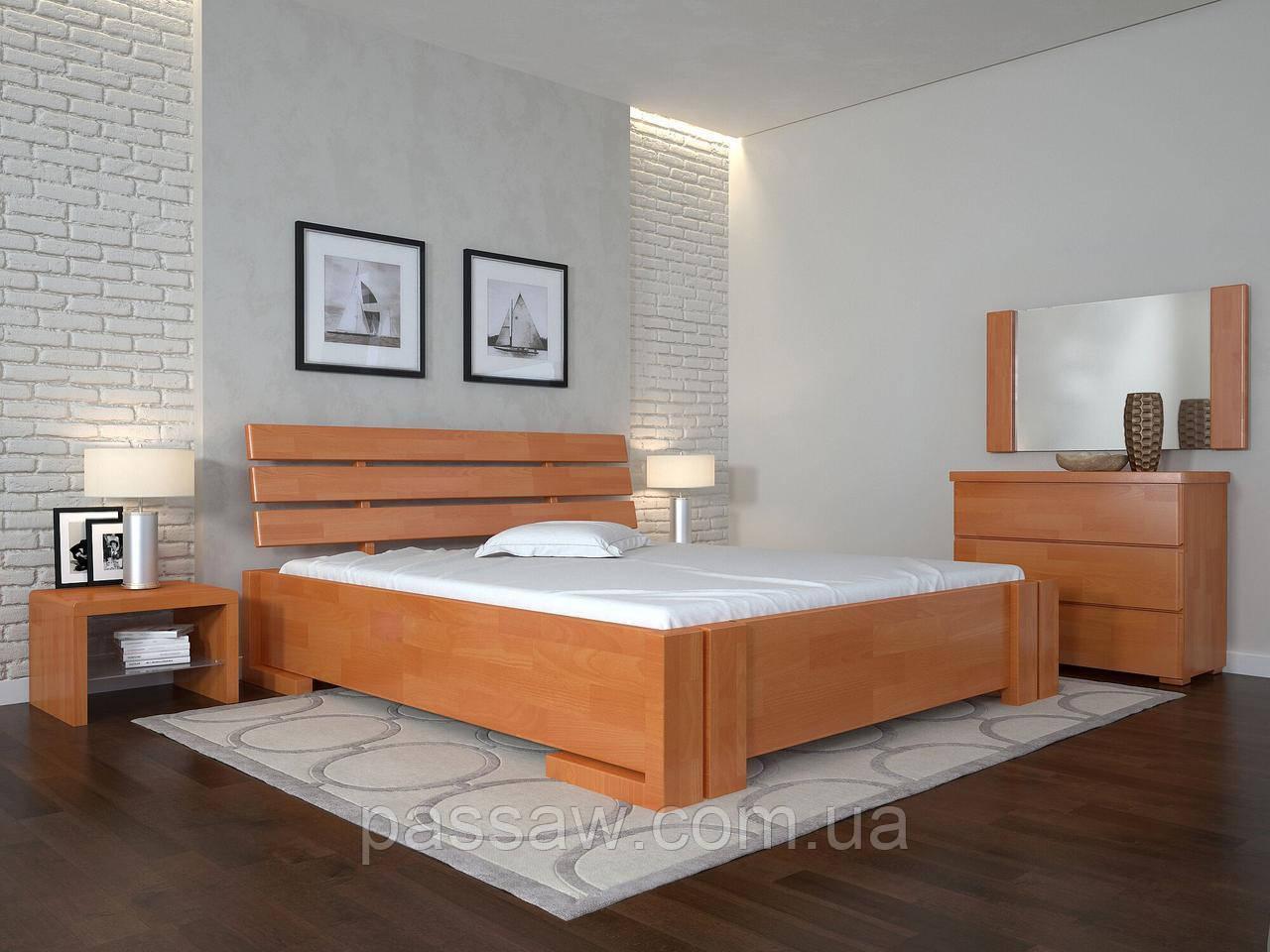 """Кровать деревянная ARBOR DREV  """"Домино"""" 1,4 бук"""