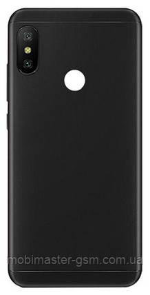 Задняя крышка Xiaomi Mi A2 / Mi6X черная, фото 2