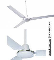 Осевые потолочные вентиляторы ВП