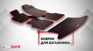 Автоковрики для Acura ZDX / 200 (2010 - 2013) Канада Передние и задние с перемычкой + коврик в багажник eva коврики от ТМ EvaKovrik