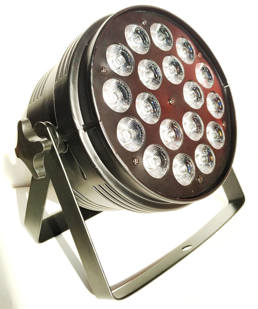 Світлодіодний прожектор Led par 18x10 RGBW. Світломузика, дискосвітло