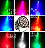 Світлодіодний прожектор Led par 18x10 RGBW. Світломузика, дискосвітло, фото 2