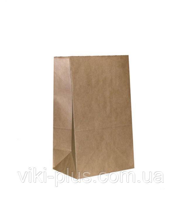 Пакет паперовий 18*5*28 см коричневий(1000шт/уп)