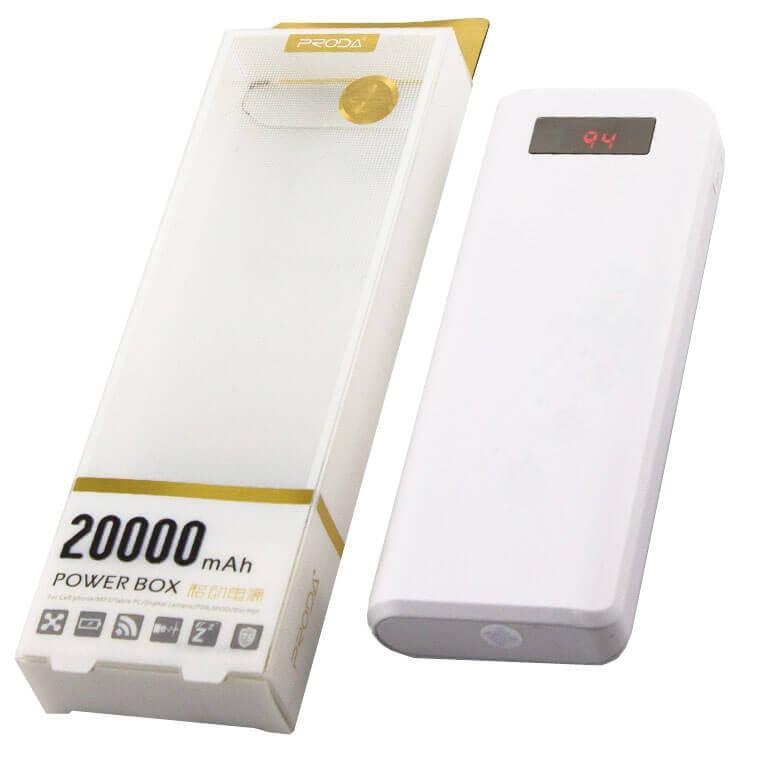 Универсальное зарядное устройство Power Bank  Proda 20000mAh