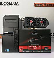 Игровой компьютер, Intel Core i7-3770 3.9GHz, RAM 8ГБ, SSD 120ГБ + HDD 500ГБ, RX 580 8ГБ, гарантия 6 мес!, фото 1