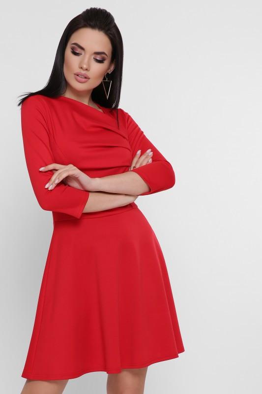 Платье Dominic красный (42-48)