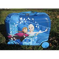 Детский чемодан для девочек. Чемодан каталка  Холодное сердце. Детский чемодан Холодное сердце. Чемодан Frozen