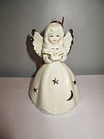 Керамическая статуэтка Ангел - колокол