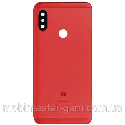 Задняя крышка Xiaomi Mi A2 Lite / Redmi 6 Pro red