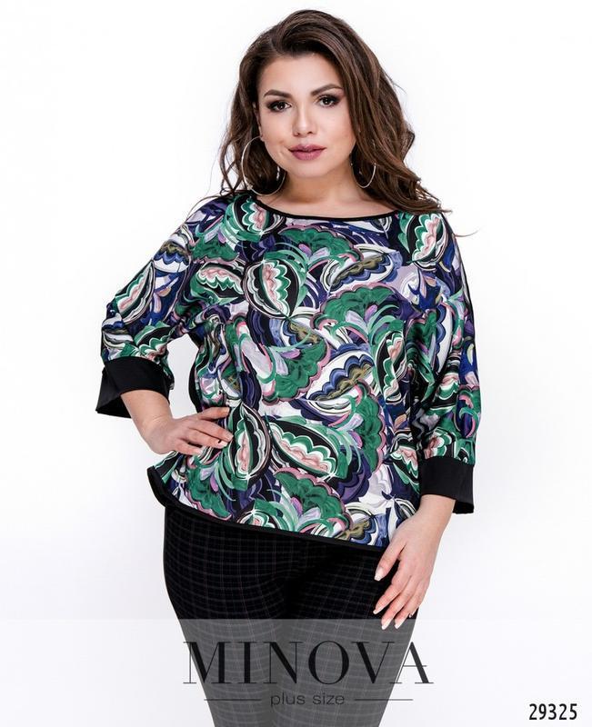 Женская блуза размеры: 48-54