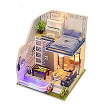"""3D Румбокс """"Будинок в Європейському стилі"""" - Ляльковий Дім Конструктор / DIY Doll House від CuteBee"""
