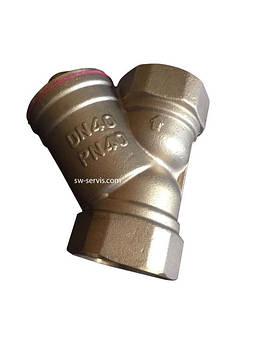 Фильтр грубой очистки 1/2 латунный усиленный forte