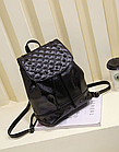 Рюкзак жіночий PU кожзам. з фурнітурою 29 см - 25 див. - 14 див. Чорний, фото 2