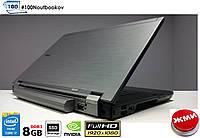 """Ноутбук Dell Latitude E6510 15.6"""" FHD 1920x1080 QuadCORE i7/8GB/120SSD/NVIDIA 512mb Б/У с Гарантией"""