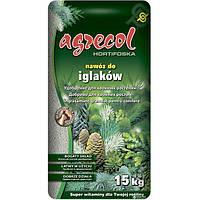 Удобрение 10-6-23 Агрекол для Хвойных растений (Hortifoska ), 15 кг