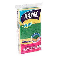 Губки кухонні Maxi Foam 3 шт. NV Plus