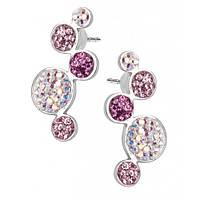 Серьги с кристаллами Swarovski 102906