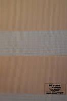 Рулонные шторы день-ночь кремовый BH-1202