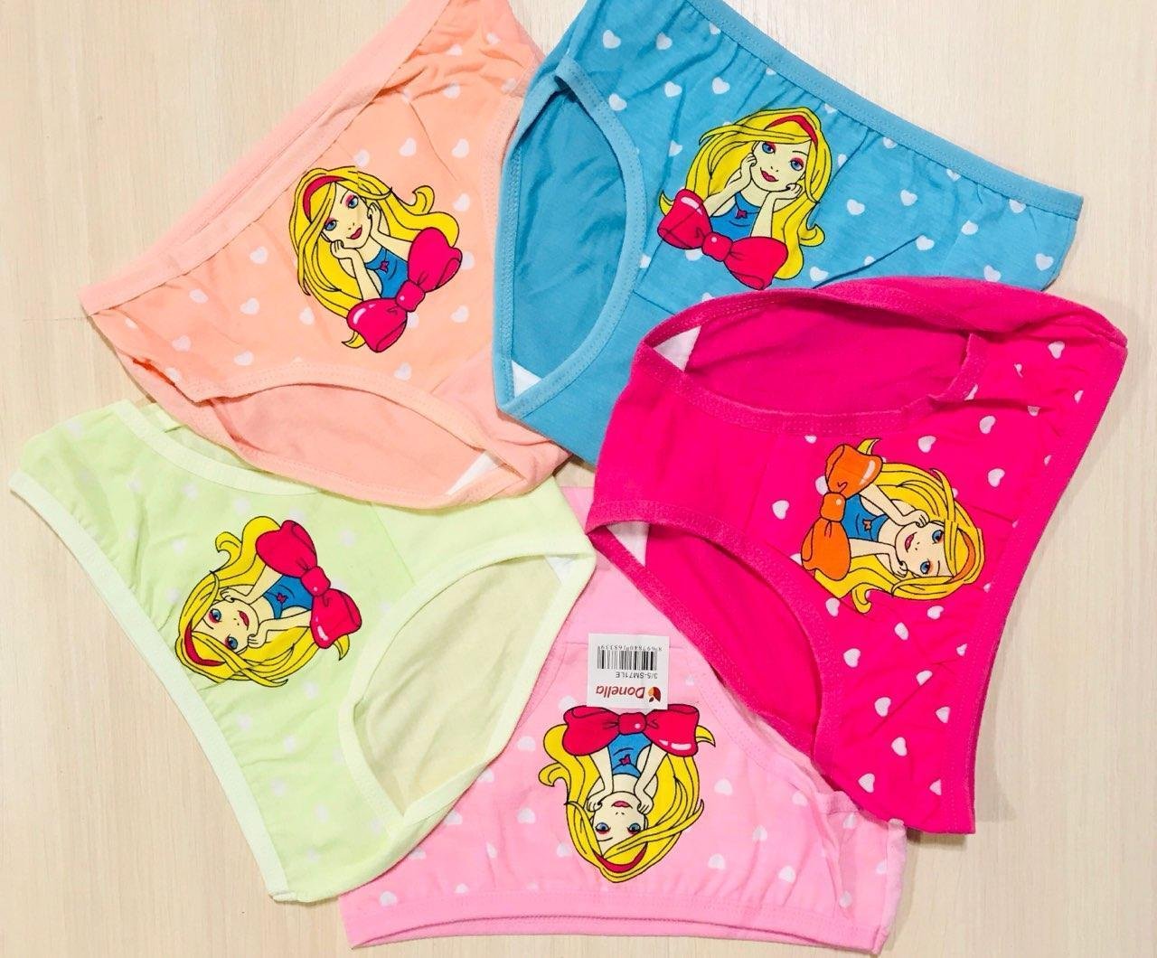 Трусики-плавки дитячі для дівчаток бавовна Donella Туреччина розмір L (6-8 років)