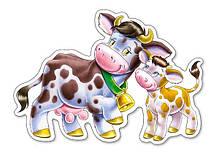 Детские пазлы для малышей 4 в 1 Животные., фото 3