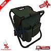 Складаний стілець - рюкзак з термосумкою