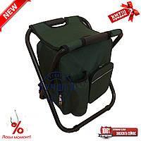 Складаний стілець - рюкзак з термосумкою, фото 1