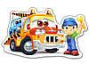 Детские пазлы для малышей 4 в 1 Спасательные службы., фото 2