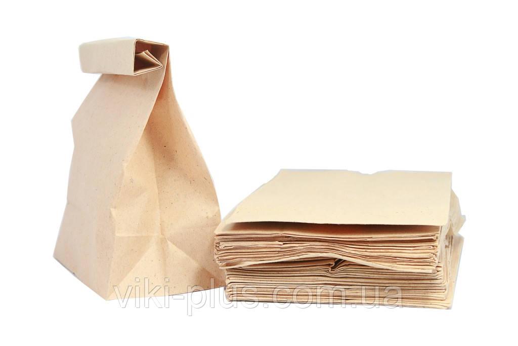 Пакет из крафт бумаги 22*8*38 см коричневый(1000шт/уп)