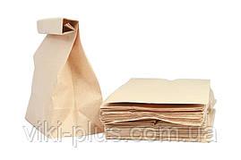 Пакет з крафт паперу 22*8*38 см коричневий(1000шт/уп)